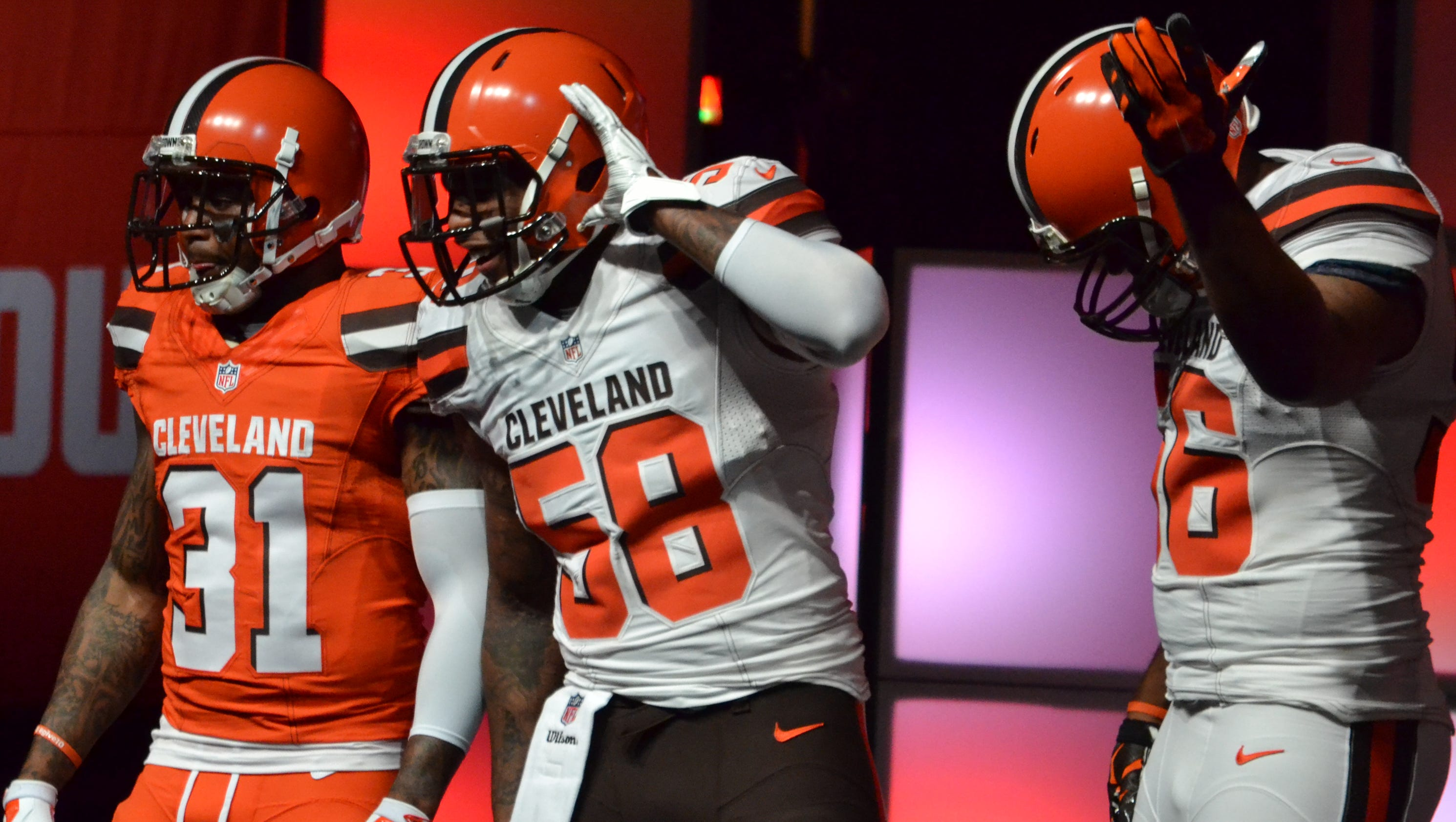 Cleveland Browns love their new look uniforms #BC350F