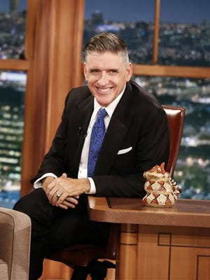 """In this photo released by CBS, host Craig Ferguson appears on the set of """"The Late Late Show with Craig Ferguson,"""" in Los Angeles. Ferguson's final show will be today."""