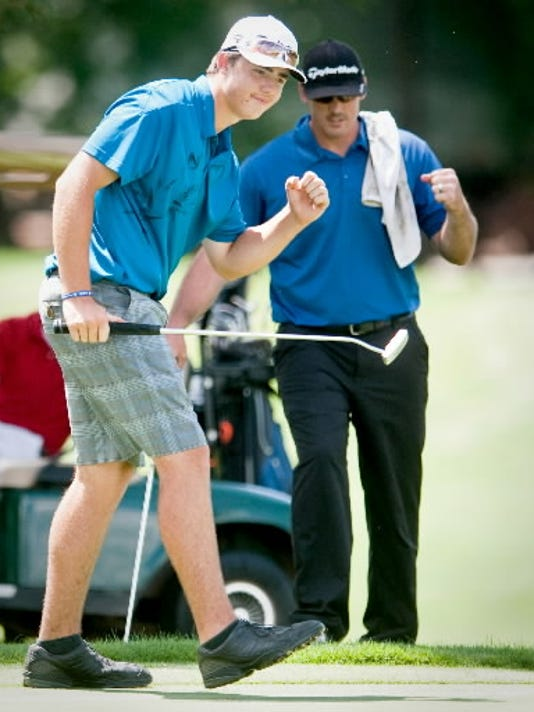 Fairfield senior Isaiah Logue has a PIAA title and, more recently, a York County Amateur Golf Tournament to his credit. (DAILY RECORD/SUNDAY NEWS -- FILE)