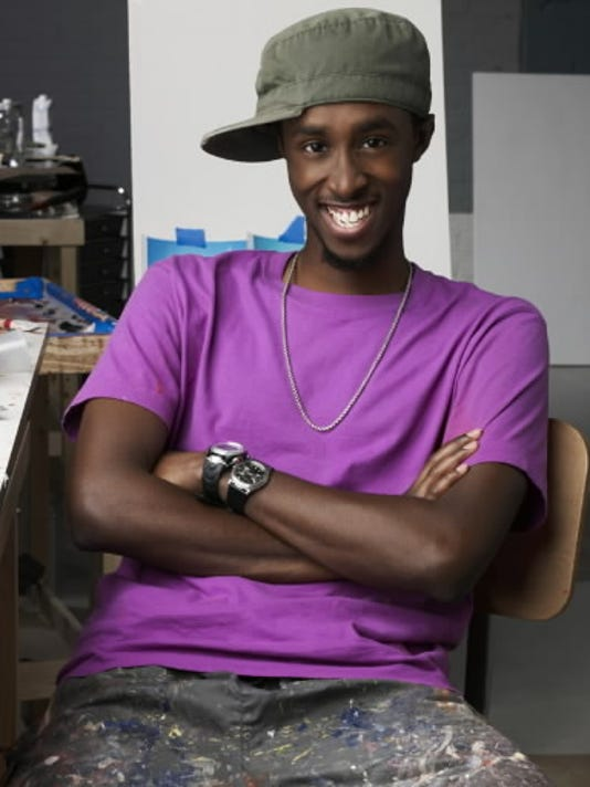 Dover resident Abdi Farah is a competitor in the new Bravo reality series 'Work of Art: The Next Great Artist.' He was 23 when the show aired June 2010.