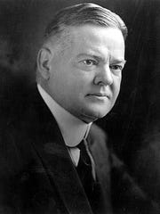 This portrait of Herbert Hoover, of West Branch, Iowa, was taken in 1928, the year he was elected the 31st U.S. president.