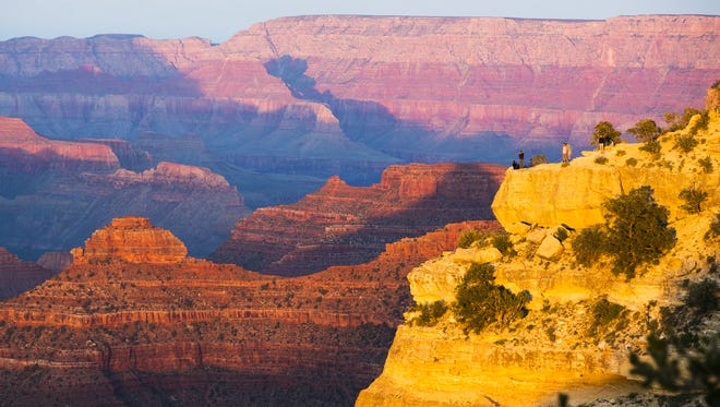 Grand Canyon National Park avoids making one hot list of top parks: It isn't among those with a frequent air-pollution problem, according to a new study.