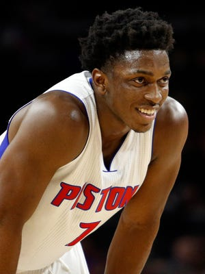 Stanley Johnson 2016-17 salary: $2.9M. The past: Coming off a rookie season where he established himself as a likely franchise building block. Role: Somewhat of a human utility knife for Van Gundy in his rookie season, Johnson must continue to develop into a prime two-way option.