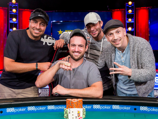 Shelby Township's Joe Cada won his third WSOP bracelet