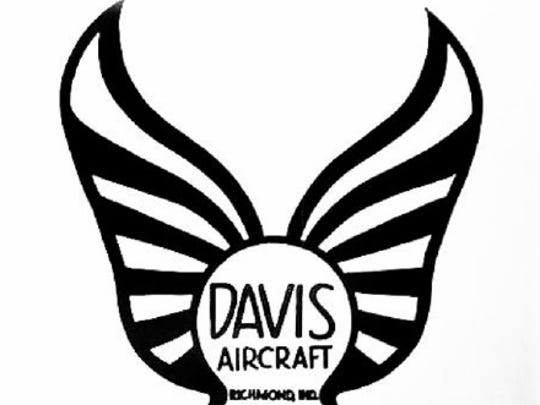 Davis Aircraft company logo. The manufacturing plant
