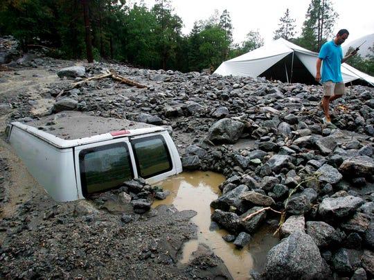 AP APTOPIX Southern California Storms