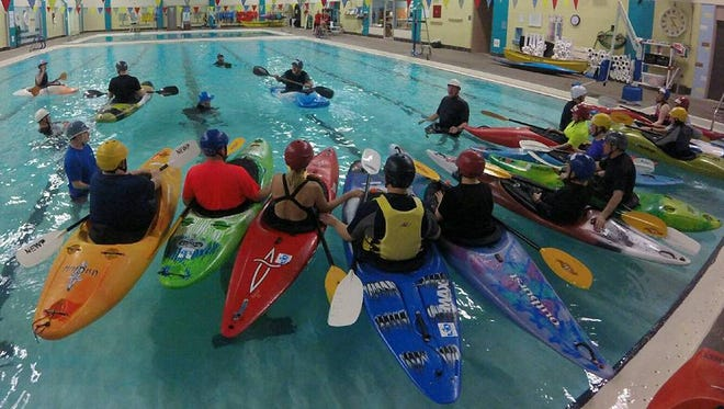 "A ""Kayaking Essentials"" class will be offered by North East Wisconsin Paddlers at indoor pools in Appleton, Greenville and Green Bay."