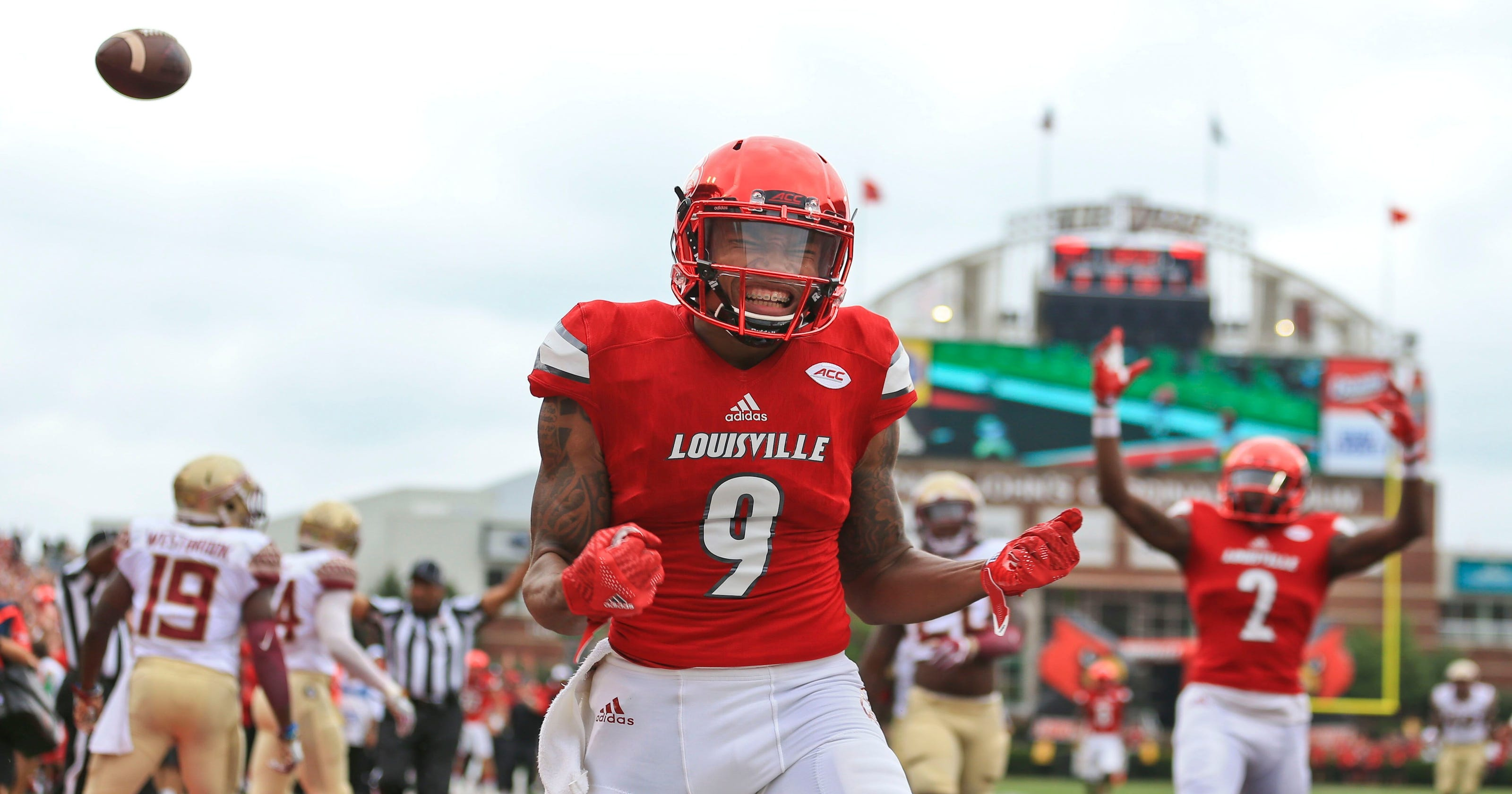newest d1c4a 68c49 Louisville football: Jaylen Smith to sign with Baltimore Ravens