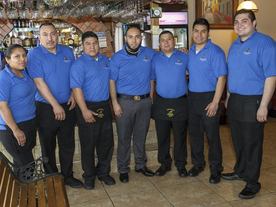 The staff at Monterrey Mexican Restaurant in Altoona