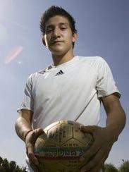Enrique Cardenas, a Coachella Valley High graduate