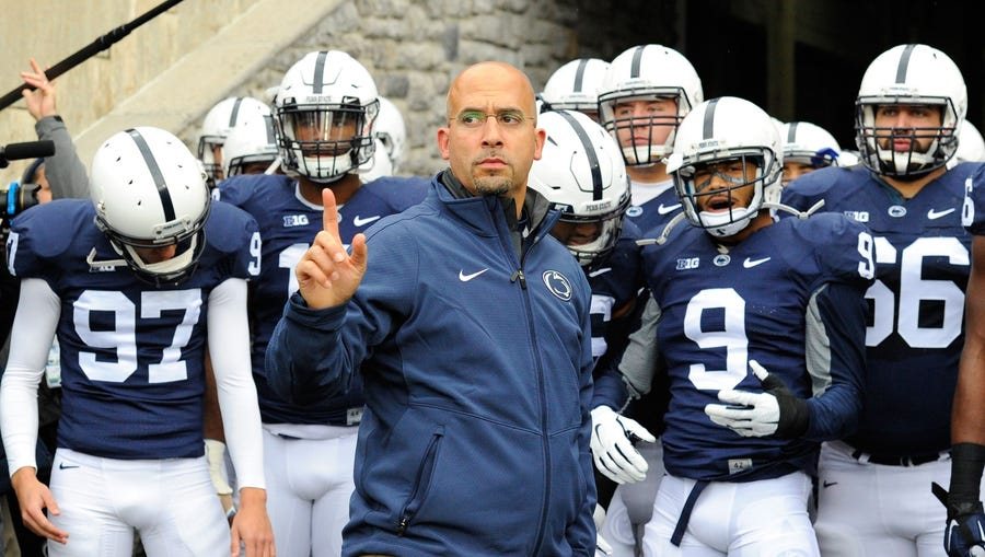 "We hear James Franklin is looking for talent in Germany.  Makes sense: German might be the only language with a single word for ""Don't hand the ball to Miles Sanders on fourth-and-5 against Ohio State."""