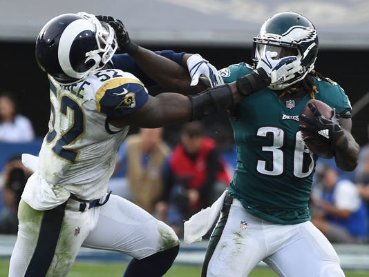 Philadelphia Eagles at Los Angeles Rams
