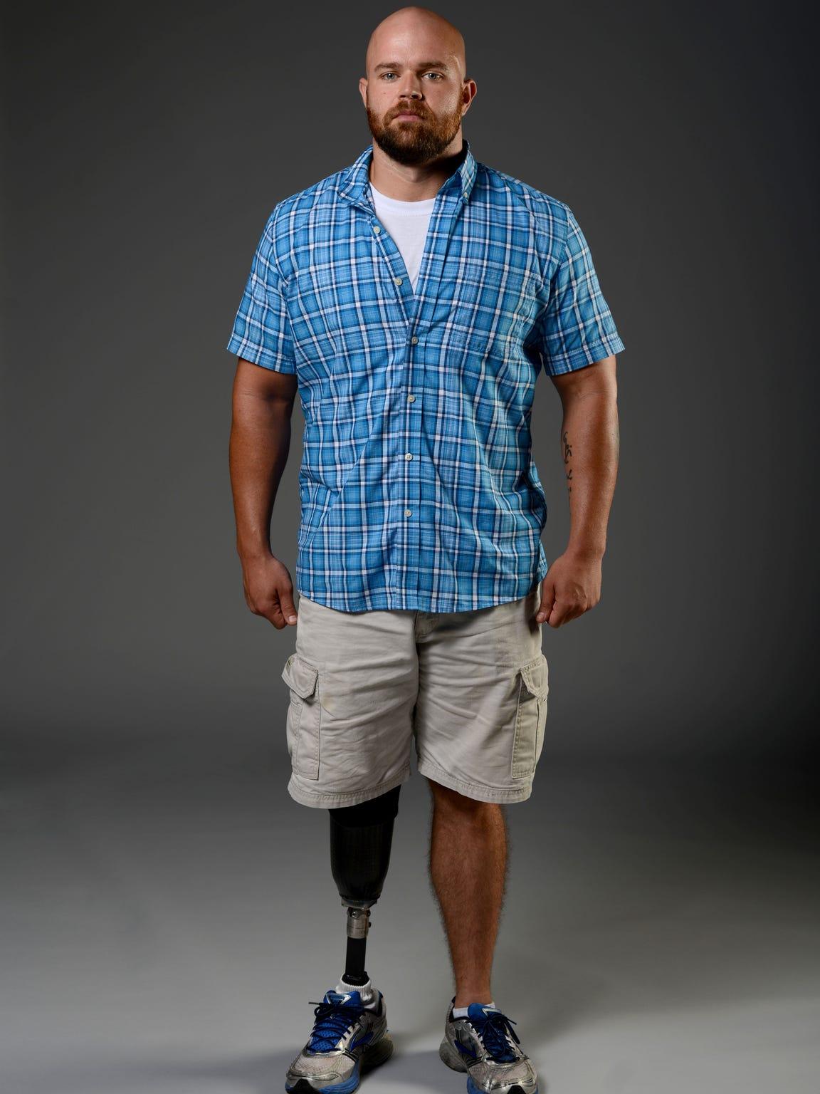 Army veteran Elliott James for years avoided seeking