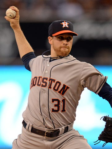 Collin McHugh has won his 11th straight decision dating
