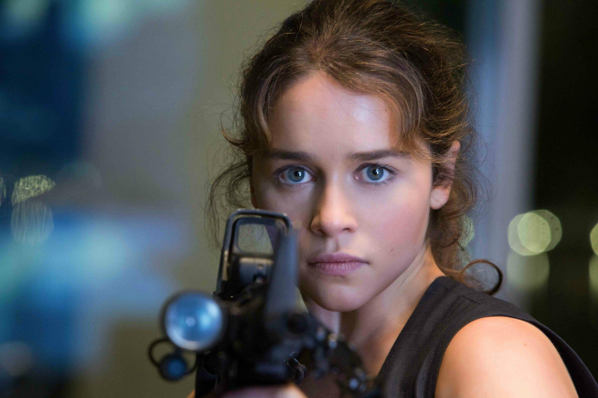Actress Emilia Clark will play Sarah Connor 12/15/2013 87
