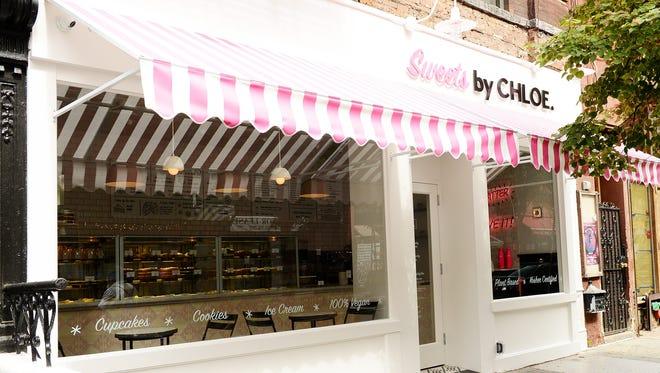 Sweets by CHLOE. opened in September offering more vegan dessert options next door to the original by CHLOE. restaurant (on Bleecker Street).