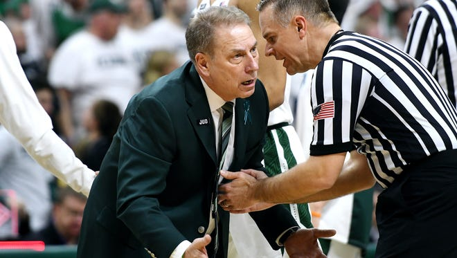 Tom Izzo coached Michigan State to its biggest win of the season Saturday. On Sunday, he found out that was only good enough to make the Spartans a No. 3 seed in the NCAA tournament, if the season ended today.