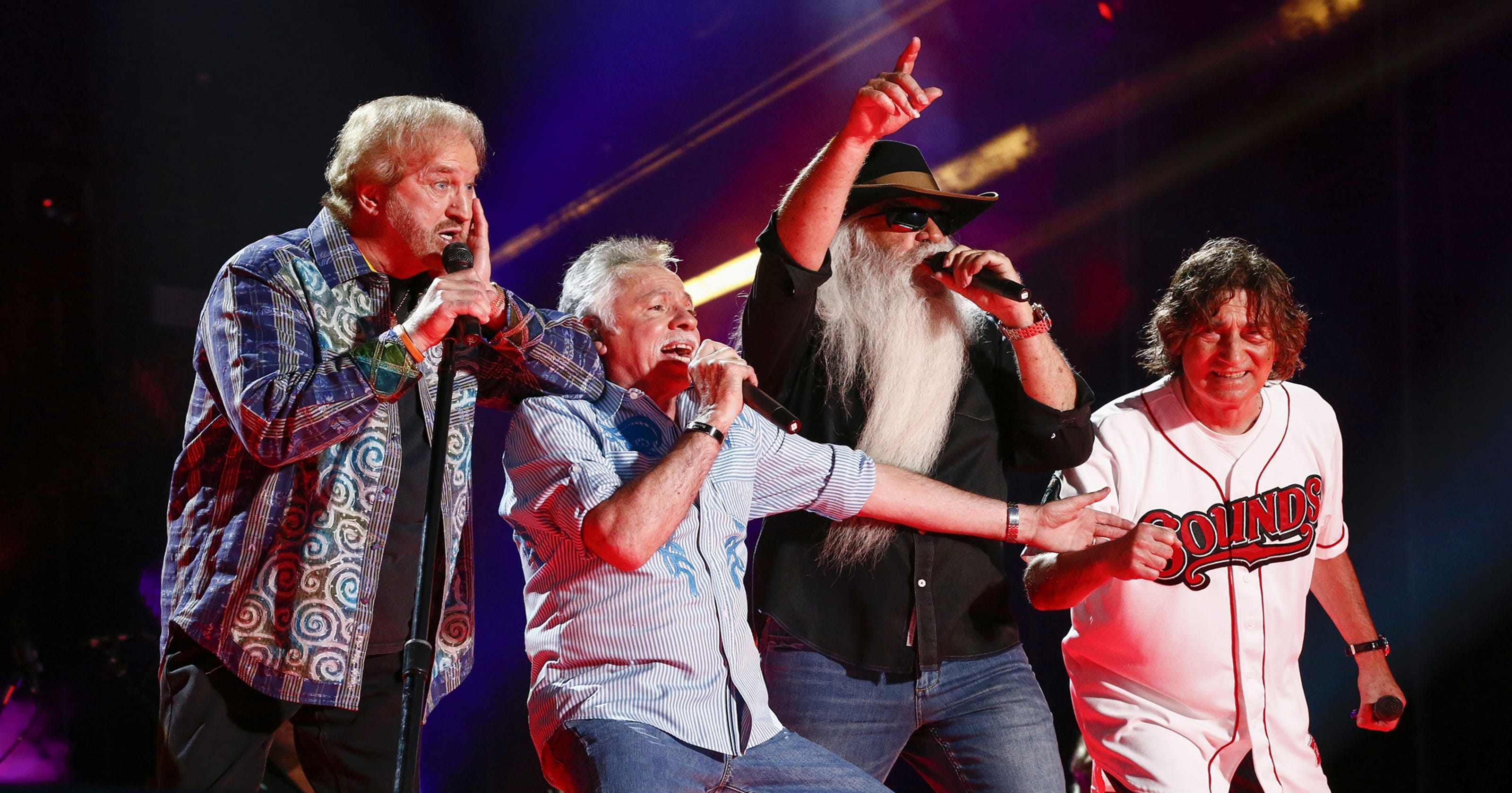 Bass singer Richard Sterban dishes about Oak Ridge Boys new album, tour