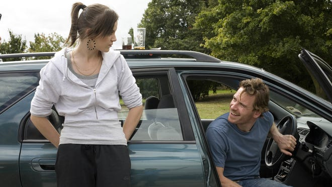 """Katie Jarvis and Michael Fassbender are shown in a scene from the 2009 film """"Fish Tank."""""""