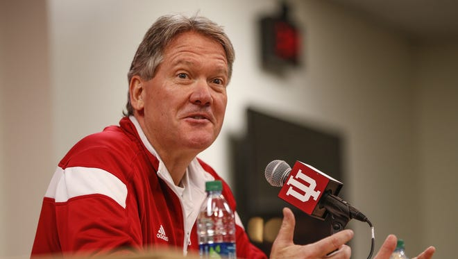 FILE – IU athletic director Fred Glass is looking for a new baseball coach.