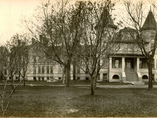 The Sheboygan County Insane Asylum was opened in 1882.