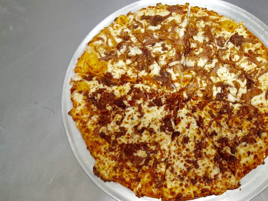 A pie from Havana Cuban Pizzeria in Cape Coral.
