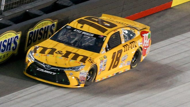 Kyle Busch was the first driver to win a Cup title in a Toyota in 2015.