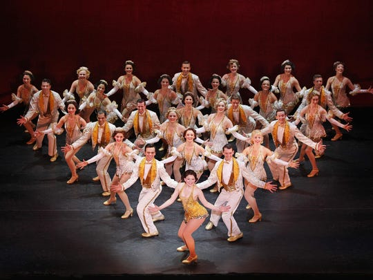 """42nd Street"" — renowned for its big dance numbers — will stop at the Clemens Center on Feb. 16-17."