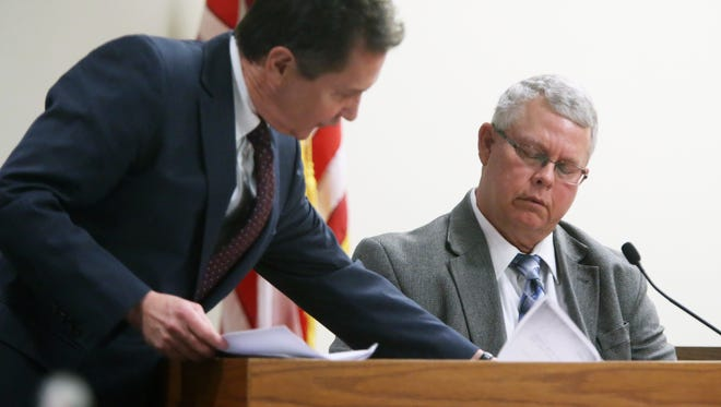 Retired Scottsdale Arizona detective Thomas Van Meter. Van Meter  made an appearance in Middlesex County Court in New Brunswick on Friday January 22, 2016 as part of the pretrial testimony related to statements made by Damien Dowdle of Tucson, AZ who claims a former jailhouse cell mate told him he killed a boy years ago. Dowdle thinks that boy could have been Timothy Wiltsey, the son of Michelle Lodzinski, who was reported missing from a Sayreville carnival on May 25, 1991 and whose partial remains were later found in Raritan Center, Edison, near where his mother once worked.