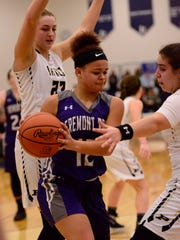 Braelyn Horn played in her final game Saturday for Fremont Ross.