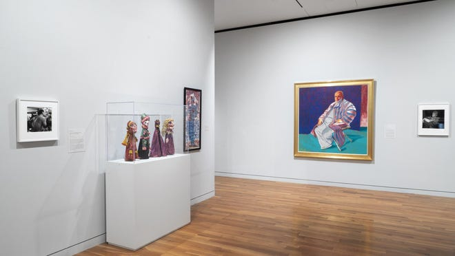 """Works from the """"Art after Stonewall"""" exhibit at the Columbus Museum of Art"""