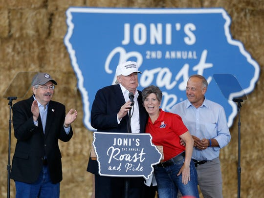 Gov. Terry Branstad joins Republican presidential candidate
