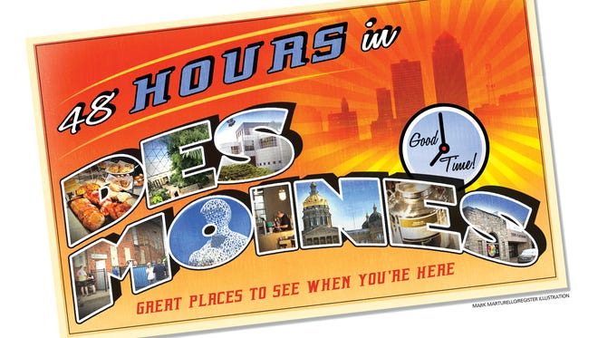 48 hours in Des Moines