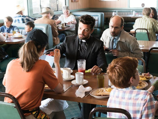 Jesse Custer (Dominic Cooper) is always there for his