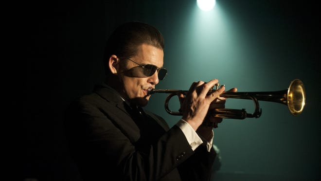 """Ethan Hawke is shown as Chet Baker in Robert Budreau's """"Born to Be Blue."""""""