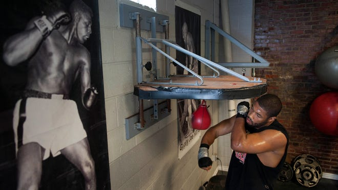 Heavyweight boxer Chazz 'The Gentleman' Witherspoon is back in the ring for the first time in two years. He has a career record fo 30-3 with 22 knockouts.