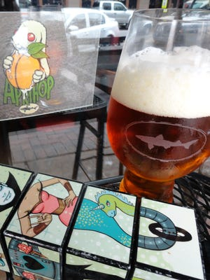 Dogfish Head Brewing's Aprihop IPA.