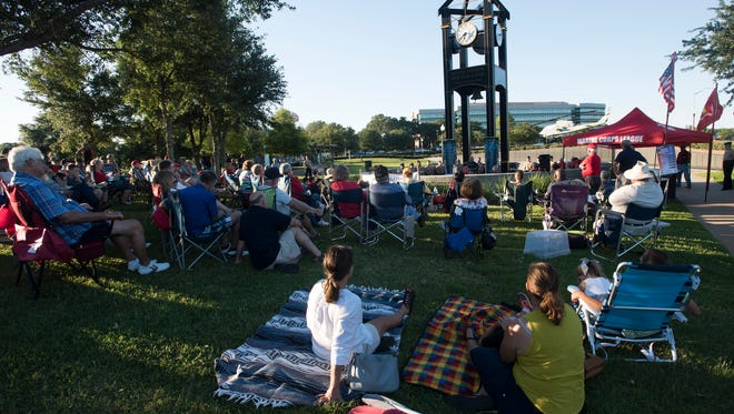 The Marine Corps League kicked off its 2017 Heroes Among Us speaker series at Veterans Memorial Park Thursday evening May 25, 2017. The series ends Thursday with a program to honor first responders.