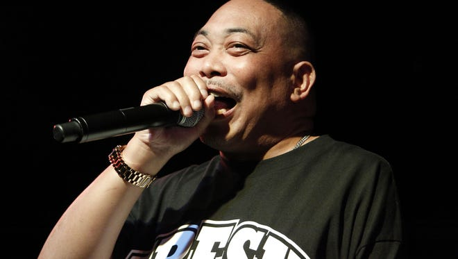 Fresh Kid Ice  of 2 Live Crew performs at Rock The Vote's #TBT 25th Anniversary Concert on October 22, 2015.