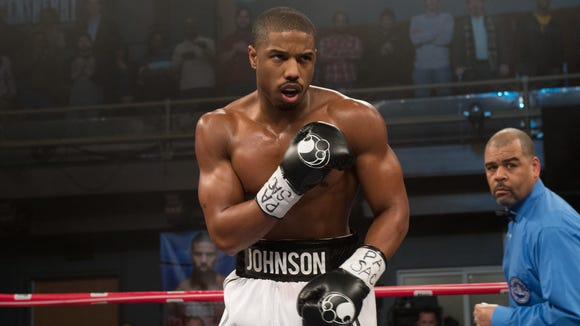 Here's what a slimmer Michael B. Jordan looks like while shooting 'Creed.'