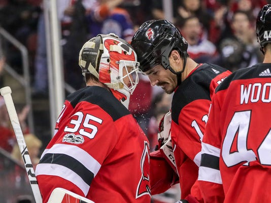 NHL: Dallas Stars at New Jersey Devils