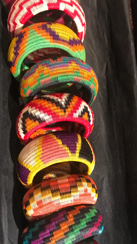 Cartagena is known for its colorful bracelets.