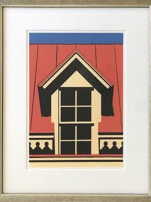 The Perfectly Aged virtual auction to benefit Historic Augusta will feature a variety of items including a serigraph by Ed Rice.