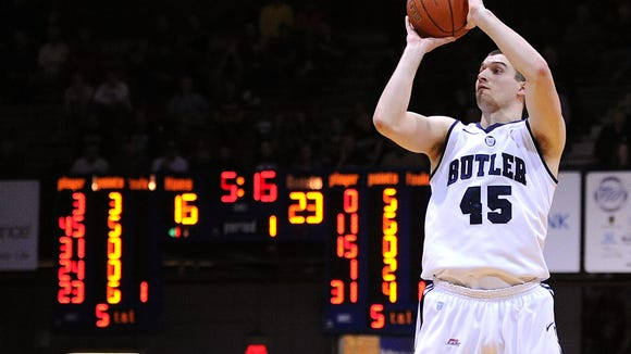 Butler freshman Andrew Chrabascz will be among the pillars the Bulldogs lean on in the seasons to come.