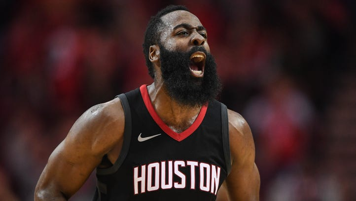 Rockets' James Harden to return tonight vs. Timberwolves