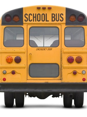 Two Rapides Parish school buses were involved in separate minor collisions Thursday.