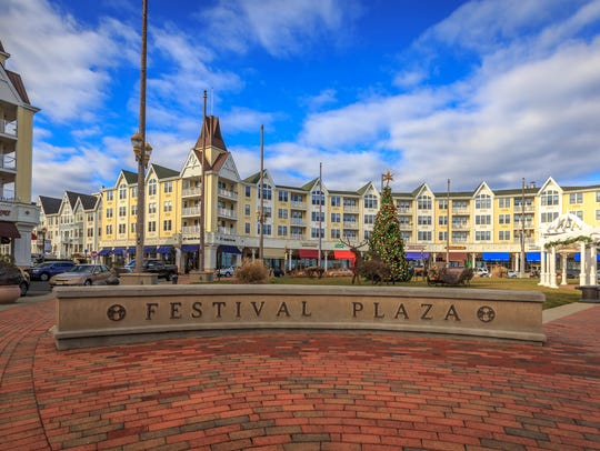 Stop by Pier Village this winter for its new outdoor