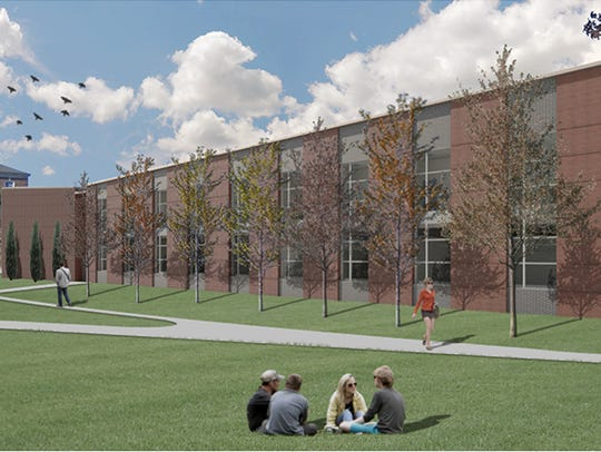 Rendering of Austin Peay's new fine arts building.