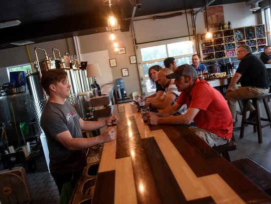 Bad Habit Brewing Company co-owner Eric Geier talks