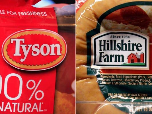 AP Tyson Hillshire Brands